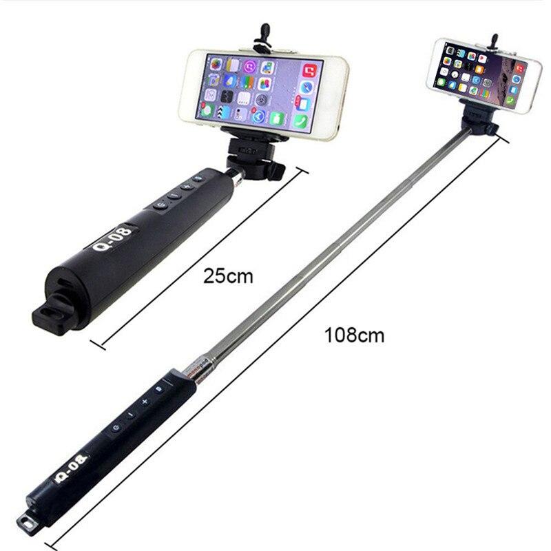 Support de Téléphone universel Pour Iphone Samsung Caméra Bluetooth Télécommande Selfie Extensible Bâton pour les téléphones portables intelligents