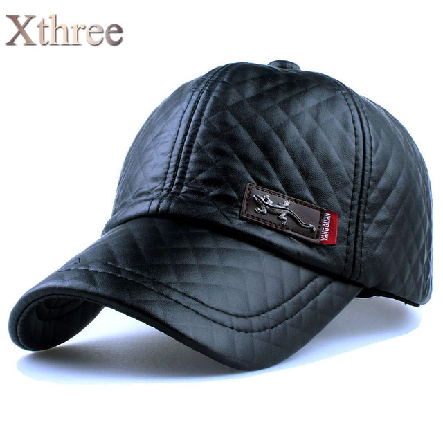 Leather Baseball Cap (3 Colors)