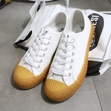 Купить с кэшбэком 2019 new low canvas women's shoes solid color multicolor board  street casual flat shoes women Big size 37--43 Yasilaiya