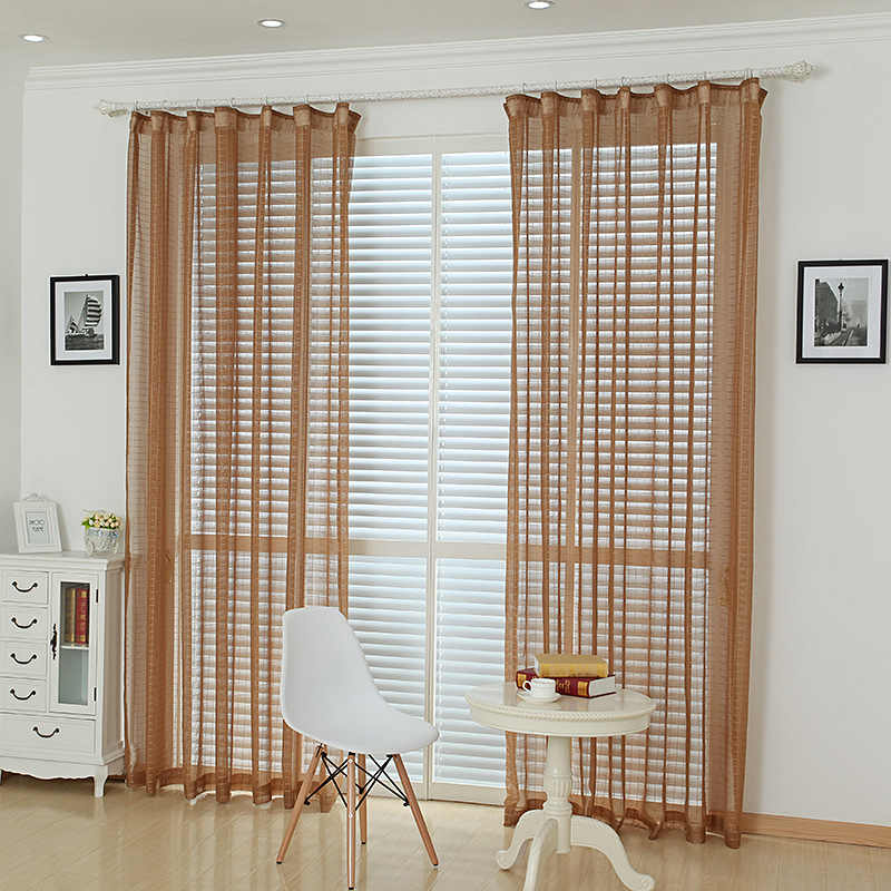 White Lattice Window Curtains For Living Room Grey Drapes Sheer Voile Pink Coffee Plaid Cotton Tulle Kitchen Curtain WP036-30