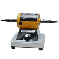 GOXAWEE 10000RPM Mini Bench Grinder Polishing Grinding Machine Bench Lathe Buffing Machine For Metal, Glass, Stone Jewelry Tools