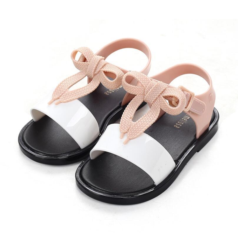 2019 New Summer Melissa Jelly Style Mini Shoes Girl Non-slip Kids Beach Sandal Toddler shoe Soft Sandals2019 New Summer Melissa Jelly Style Mini Shoes Girl Non-slip Kids Beach Sandal Toddler shoe Soft Sandals