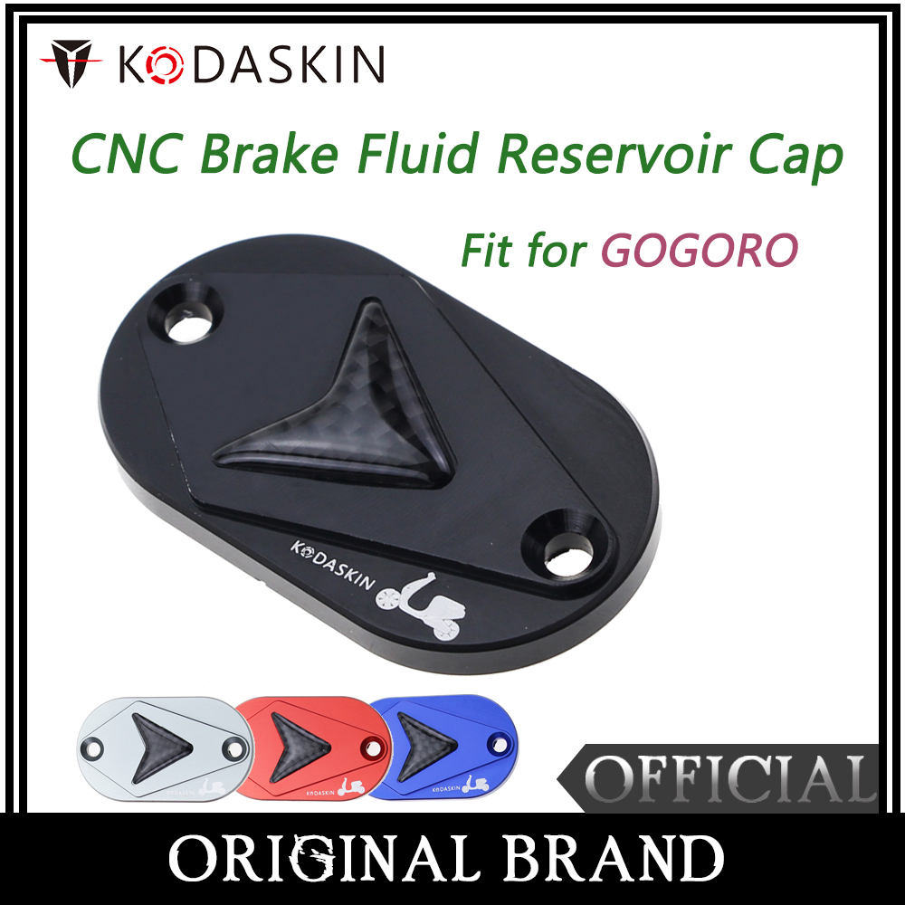 KODASKIN Motorcycle CNC Brake Fluid Reservoir Cap Cover for GOGORO S1 S2 in Covers Ornamental Mouldings from Automobiles Motorcycles