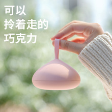 Chocolate steamed bun hand warmer, adjustable warm baby, mini USB charging gift mobile power
