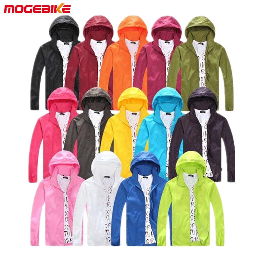 MOGEBIKE 2018 Spring Autumn Summer Brand Women's Men's Waterproof Windbreaker Windproof motorcycle Jacket Riding jacket