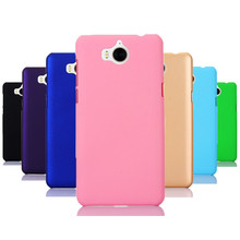 Phone Cases sFor Huawei Y5 2017 Case 360 Matte Hard plastic PC Candy Color Back Cover For Y3 Y6 Y7