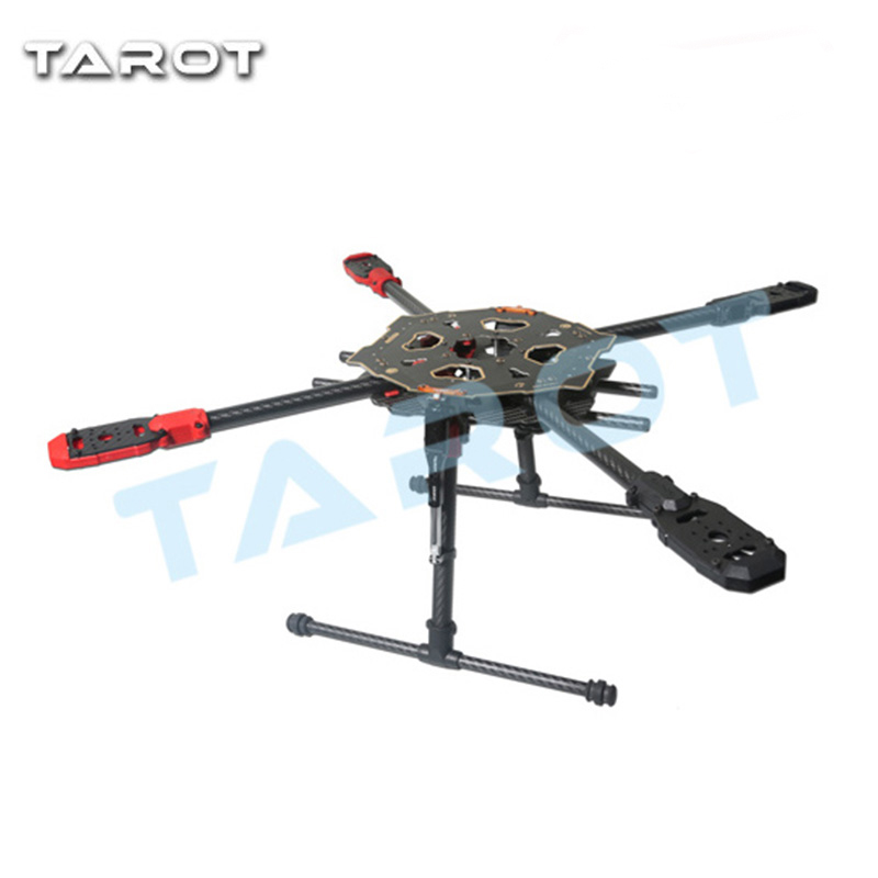 Weyland Tarot 650 Sport Carbon Quadcopter Frame with Electric Folding Landing Gear Airplane Drone FPV Kit TL65S01 Free Shipping atg tt x4 12 reptile 4 axis glass carbon folding frame kit with landing gear black