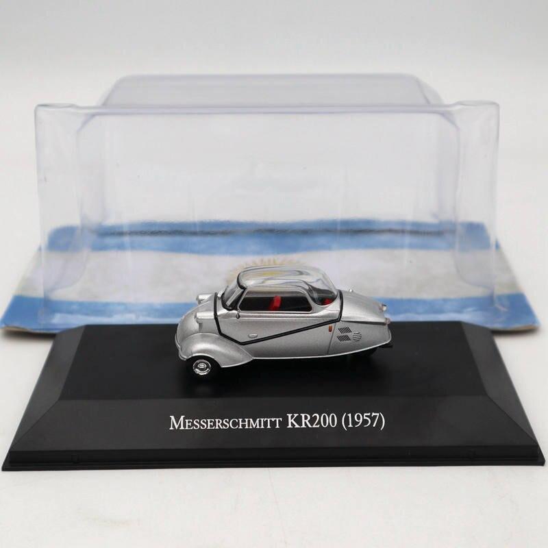 IXO Altaya 1:43 Messerschmitt KR200 1957 Silver Diecast Models Limited Edition Collection