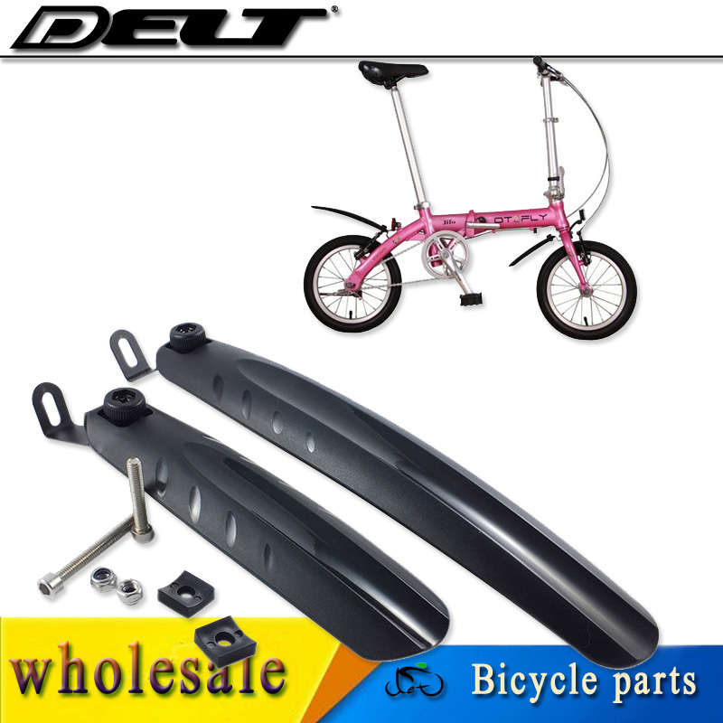 Durable Kids Bike Mud Guards Bicycle Mudguard Fender Set for 12//14//16/'/' Cycles