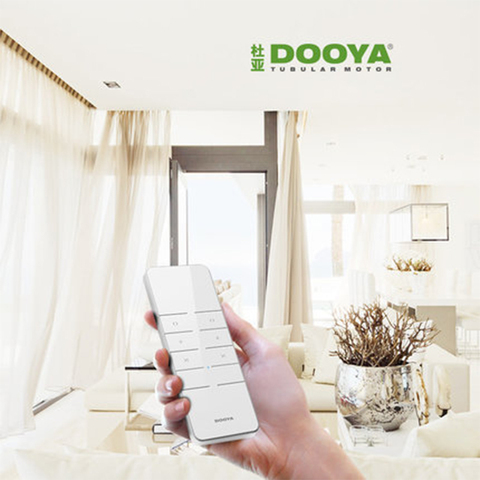 Wi-fi do Motor Sistema de Automação Dooya Cortina Elétrica Casa Inteligente Broadlink Ios Android Controle Remoto Dt360e