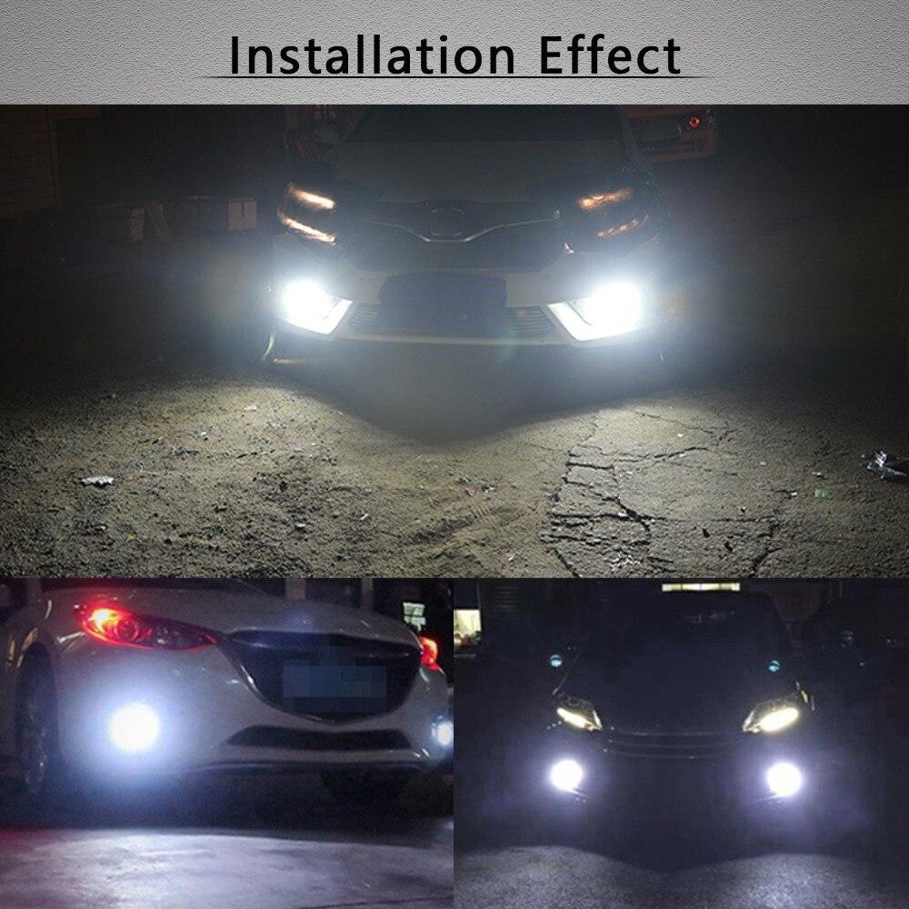 2 հատ հատ PSX24W LED H16 H11 H8 H10 լամպ 50W DRL - Ավտոմեքենայի լույսեր - Լուսանկար 6