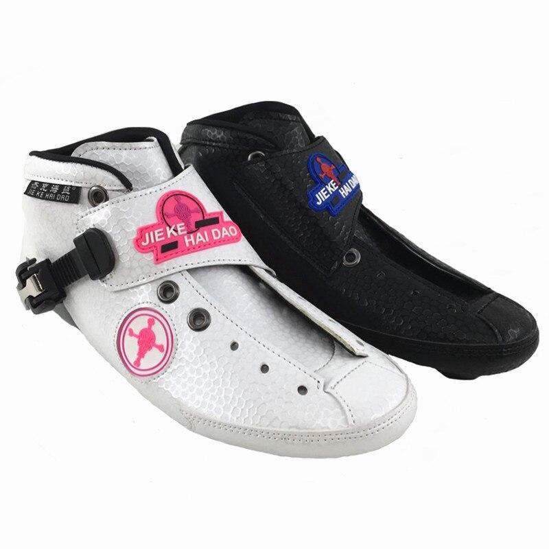 Prix pour Inline Patinage De Vitesse d'amorçage inline chaussures de patinage de vitesse Professionnel enfant inline patins à roulettes Patins Patin À Roulettes Carbone Adultes
