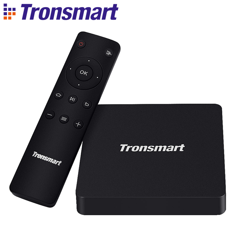 Tronsmart Vega S96 Octa Core Anoroid 6.0 TV Box Amlogic S912 2G/16G eMMC Dual Band Wifi Gigabit Ethernet [Promotion]
