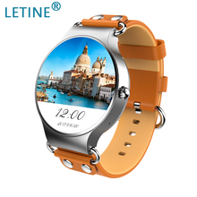 Letine GPS Smart Watch 2019 KW98 Android 5.1 3G network WiFi Watch Heart Rate Tracker Smart Sport Watch for iOS Android Phone