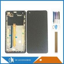 Mit Rahmen Für Highscreen Omega Prime S LCD Display Mit Touch Screen Digitizer Montage Hohe Qualität Mit Werkzeuge Band