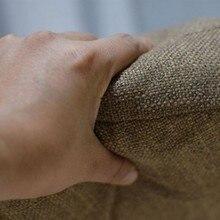 Linen Futon Cushions Thick Circular Large Fabric Floor Meditation Japanese-style Balcony Window Tatami Cushion Throw Pillow