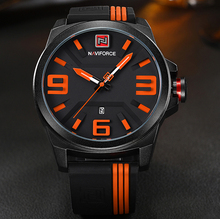 Men's Sport Quartz Watches, Colorful Fashion and Casual Watches Clear View Analog Male Clock