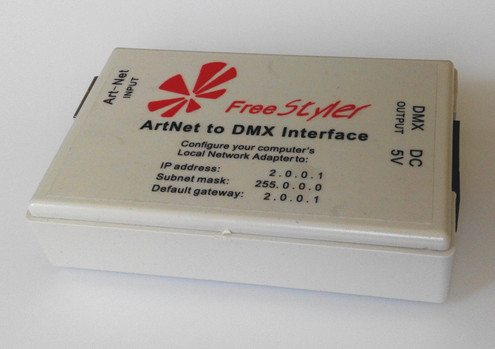 ФОТО ArtNet to DMX Interface;Art-Net Protocol input;DMX Signals (Total 512 channels)output;support many kinds of dmx softwares