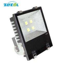 ZESOL reflektor led światło halogenowe cob 400w 220V wodoodporna IP65 lampa zewnętrzna żarówki L reflector led flood light led flood lightflood light -
