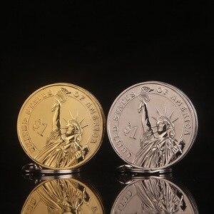 Image 4 - Creatieve Compact Butaan Aansteker Gasaansteker Opgeblazen Gas Jet Hanger Coin Bar Een Dollar Metalen Gift Sleutelhanger Sleutelhanger