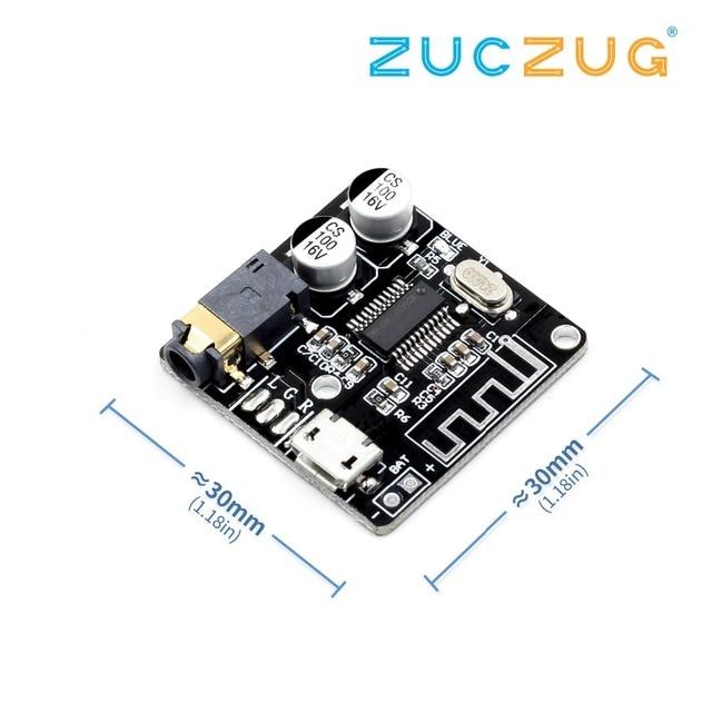 VHM-314 Bluetooth Audio Receiver board Bluetooth 4.1 mp3 lossless decoder board Wireless Stereo Music Module