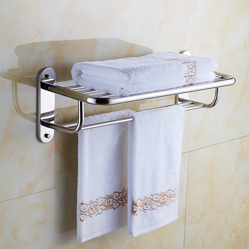 free shipping 304 stainless steel bathroom shelf hanger towel rack bathroom rack,towel shelf bathroom holder towel bar holder 304 stainless steel bathroom towel rack bar hangers more