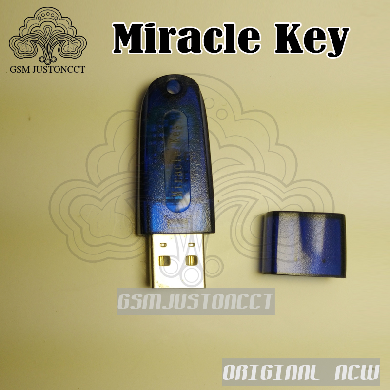 100% Original Miracle Key For Miracle Box Update Dongle For China Mobile Phones Unlock+Repairing Unlock Free Shipping