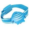 Anti-lost Alarm Fish Wristband Style + Portable Receiver Beeper Vibrate Alert For Child Elderly Pet Locator