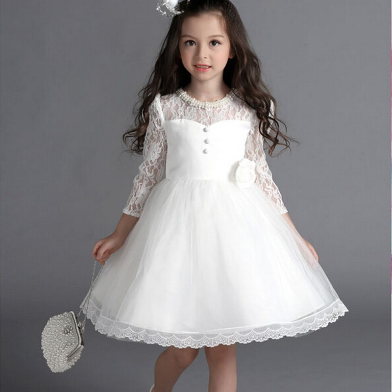 Beaded First Communion Dresses For Girls 2016 New 3 4