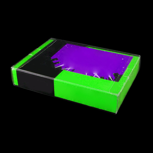 Image 2 - OCGAME 5 قطعة/الوحدة ل نينتندو صندوق الألعاب es واضح شفاف ل SNES N64 صندوق الألعاب حامي حافظة ألعاب CIB البلاستيك PET حامي