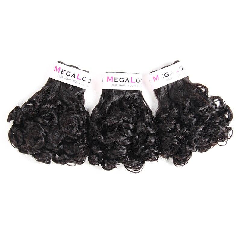 Brésilienne Funmi Rose Curl Cheveux Bundles 3 pcs Narutal Couleur Remy de Cheveux Humains Extension Livraison Gratuite
