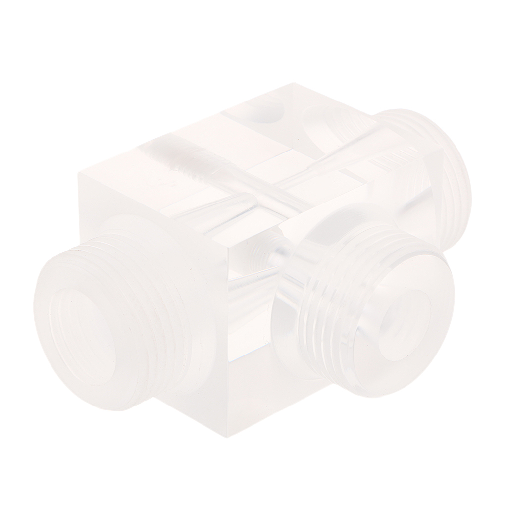 Image 5 - Jet Aerator Of Venturi Pulsator Injector For Water Treatment Pharmaceutical Kit 60x43x43mm Made From Plexiglass    -
