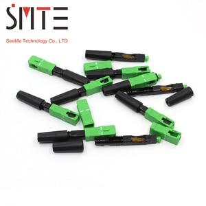 Image 3 - 100 pz/lotto ZF 8802 TLC/3 60 millimetri connettore SC/APC fibra Ottica connettore In Fibra ottica FTTH