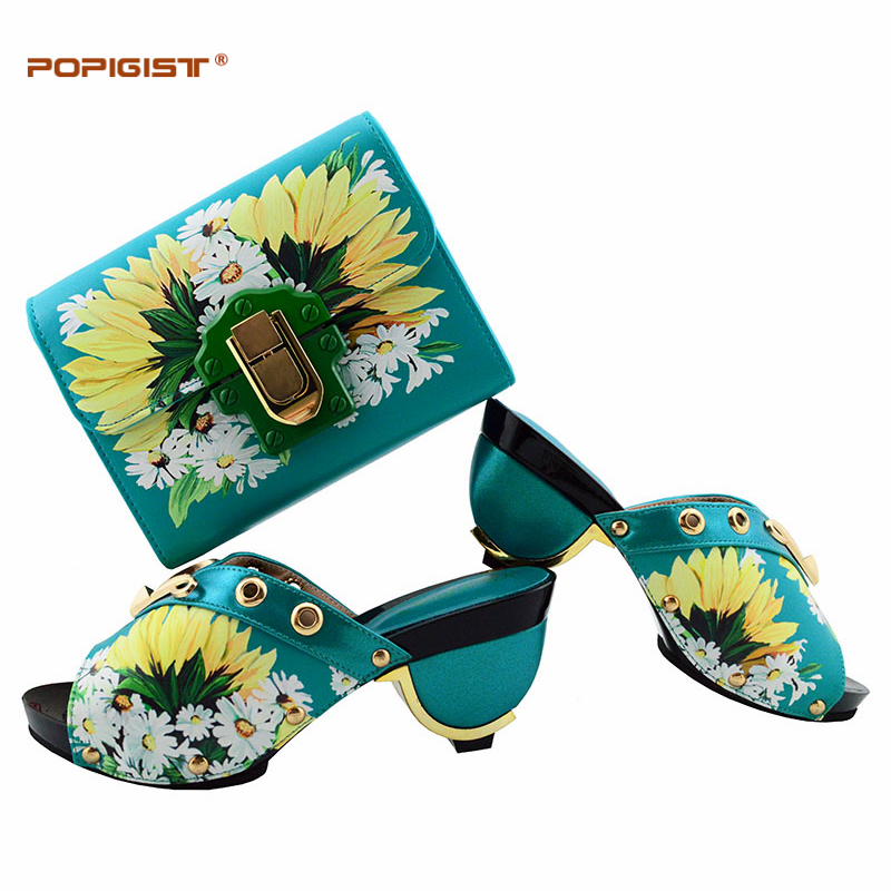 Parties black red Blue Bleu Chaussures black Correspondant Sac royal À yellow Africain sky purple Blue Flower De Mariage Flower Pour White fuchsia Italien Assortir orange Ensemble Et Royal 01Rnq