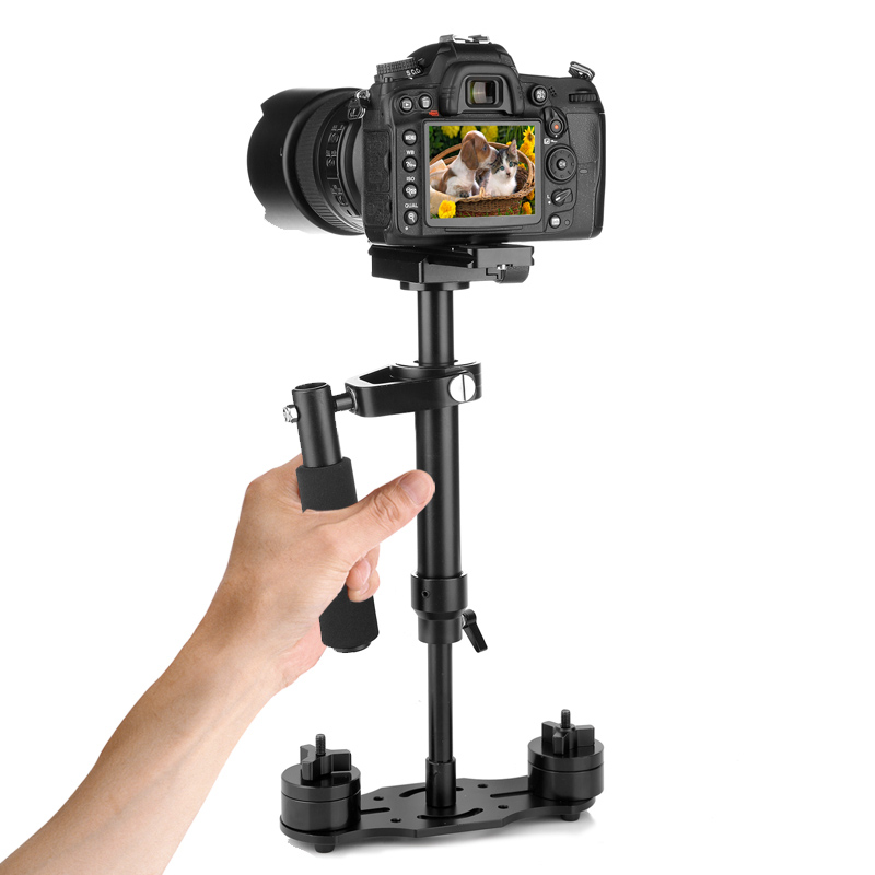 80cm Portable Handheld Stabilizer Aluminum Alloy Video Camera Photography For Canon Nikon Sony DSLR GoPro GDeals