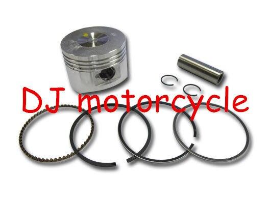 52.4 мм поршень с кольца комплект для 110cc мини-мотокроссу 110cc ATV части двигателя-поршень с кольцами комплекты KTM байк запчасти paaarts