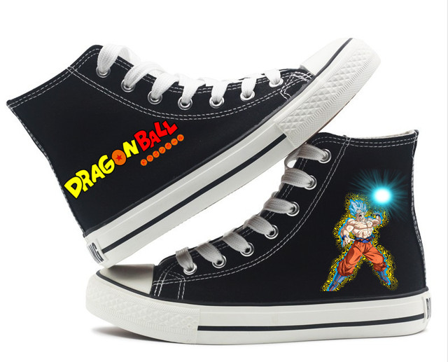 DRAGON BALL THEMED HIGHT TOP SHOES