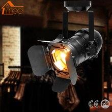 Lámpara de pared Retro Vintage de hierro estilo Loft E27 luz Industrial ajustable 4 hojas luz de pared para cafetería Bar iluminación del hogar