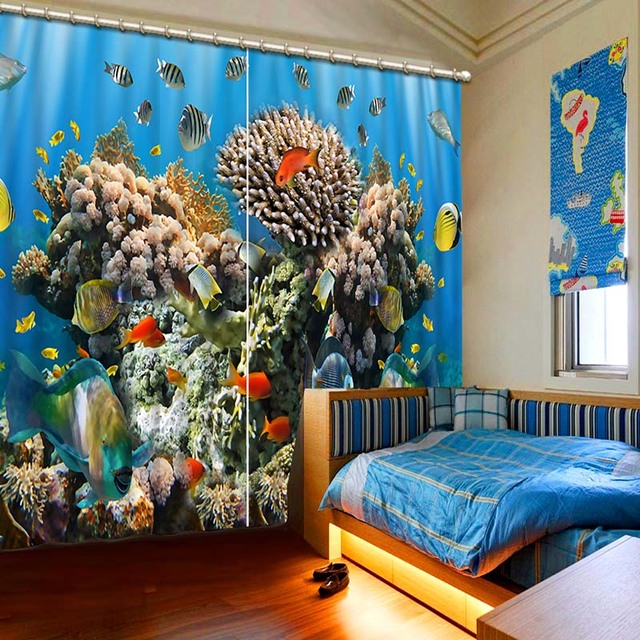 High end 3D Printing Curtains Beautiful variety of Lifelike HD
