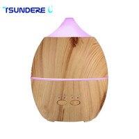 Air HumidifierAroma Diffuser Essential Oil Aroma Diffuser Aromatherapy Diffuser Wood Grain Supports Intermittent Spray Pattern