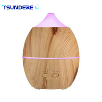 Air HumidifierAroma Diffuser Essential Oil Aroma Diffuser Aromatherapy Diffuser Wood Grain Supports Intermittent Spray Pattern