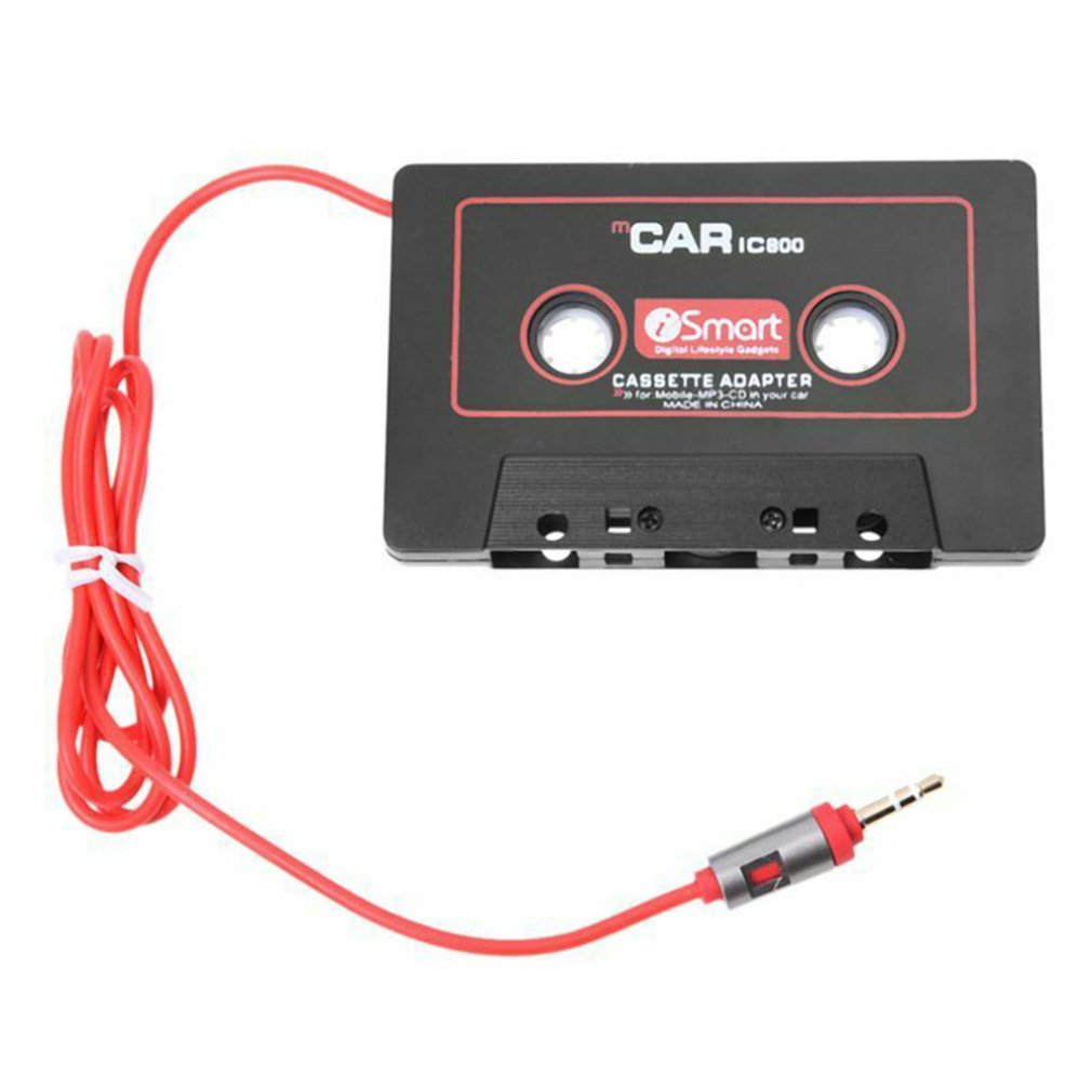 Car Audio Systems Car Stereo Cassette Tape Adapter For Mobile Phone MP3 AUX CD Player 3.5mm Jack For Car Truck Van