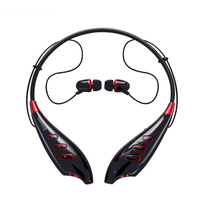 Wireless Bluetooth 4.0 Sport Stereo Headset Heaphone Earphone Support FM TF Card Handsfree With Microphone For iPhone Samsung LG