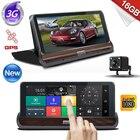 7 Inch Dash Camera Car DVR Car GPS Navigation Bluetooth Navigators Automobile with DVR FHD 1080 Vehicle GPS Sat Nav Free Maps