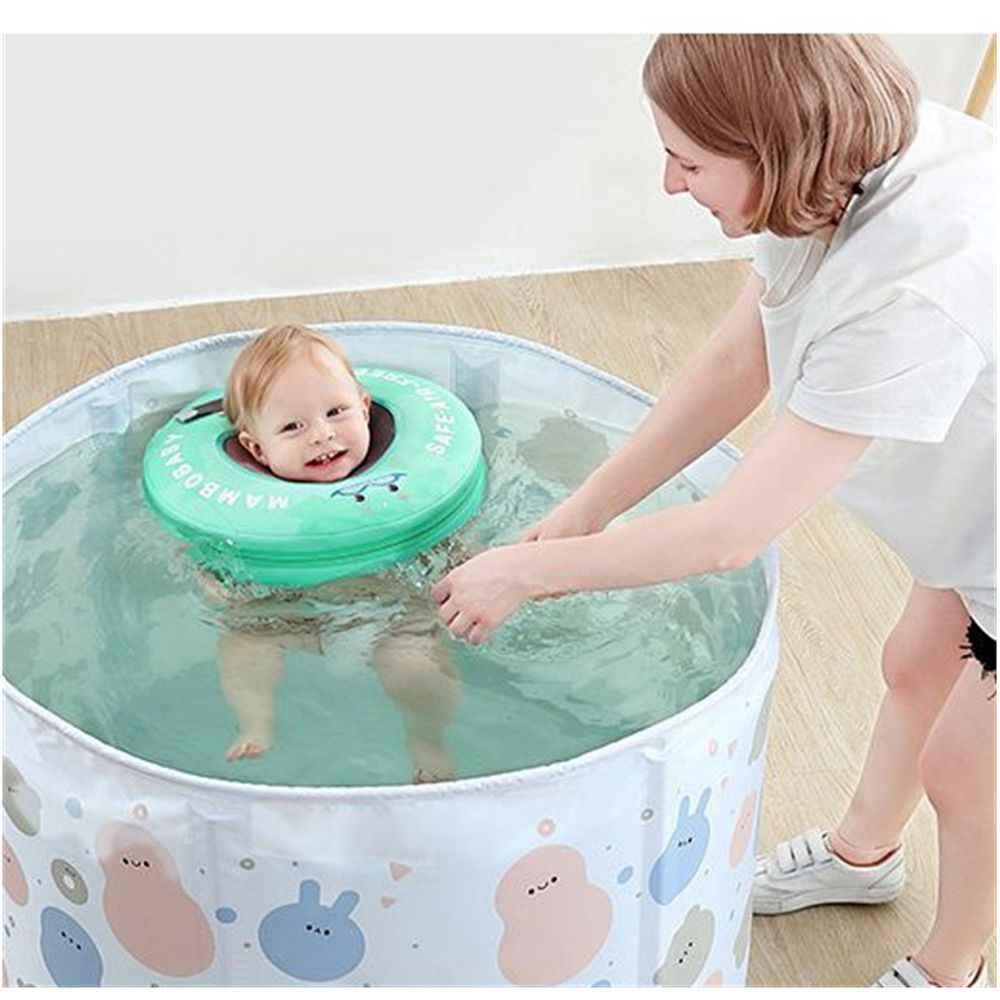 Solid Veiligheid Niet Nodig Opblaasbare Baby Zwemmen Drijvende Nek Ring Zwemmen Float Voor Accessoires Baby Zwembad