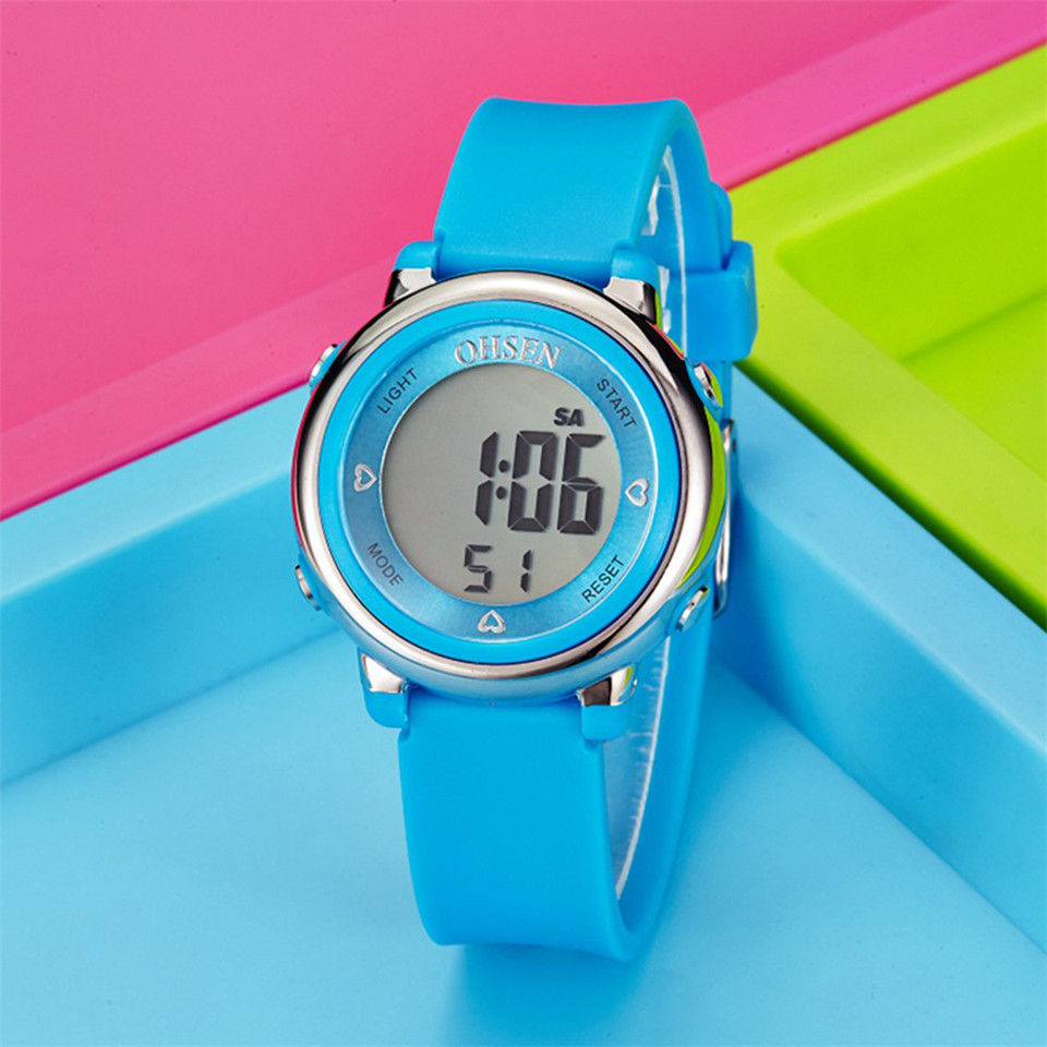 Children Watch Digital LED Waterproof Gift Kid Watches Men Clock Fashion Sport Watches Cute Boys Girls Watch Relogio Infantil
