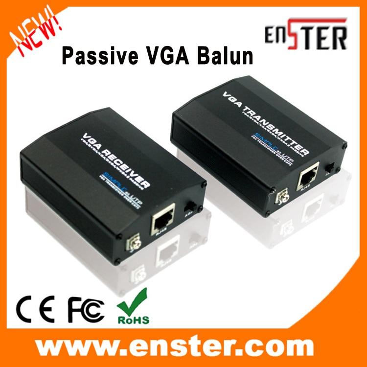 VGA Balun RJ45 to HD15 1 Pair