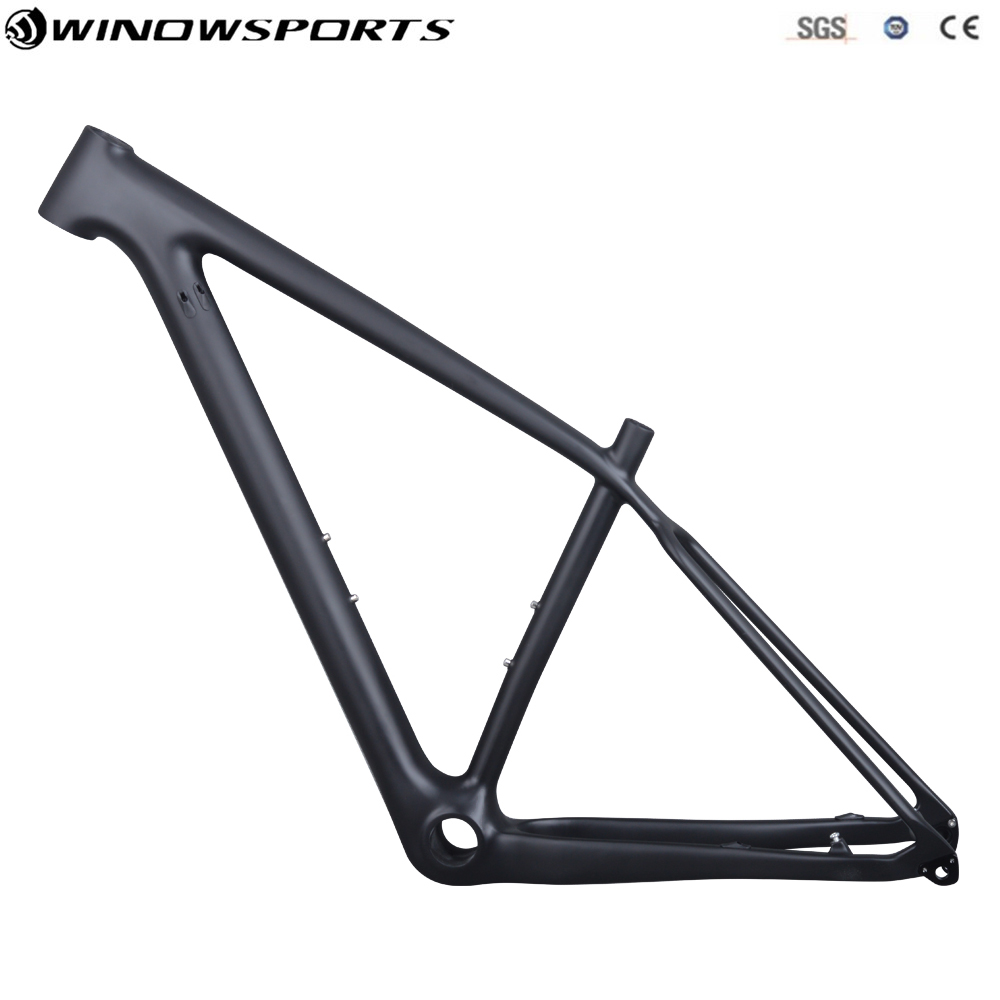 2018 29er Boost 148*12 Carbon mtb Bicycle Frame T800 Carbon Fibre Frame Bike carbon frame 29er UD Matte 148*12 mtb frameset 2017 new toseek t800 full carbon bike frame 26er 27 5er 29er mtb bicycle frame ud matte 15 17 19 21 inch match 27 2mm seatpost