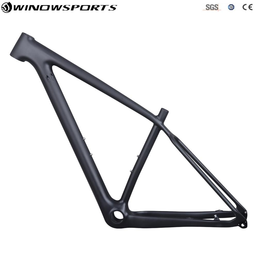2018 29er Boost 148*12 Carbon Mtb Bicycle Frame T800 Carbon Fibre Frame Bike Carbon Frame 29er UD Matte 148*12 Mtb Frameset