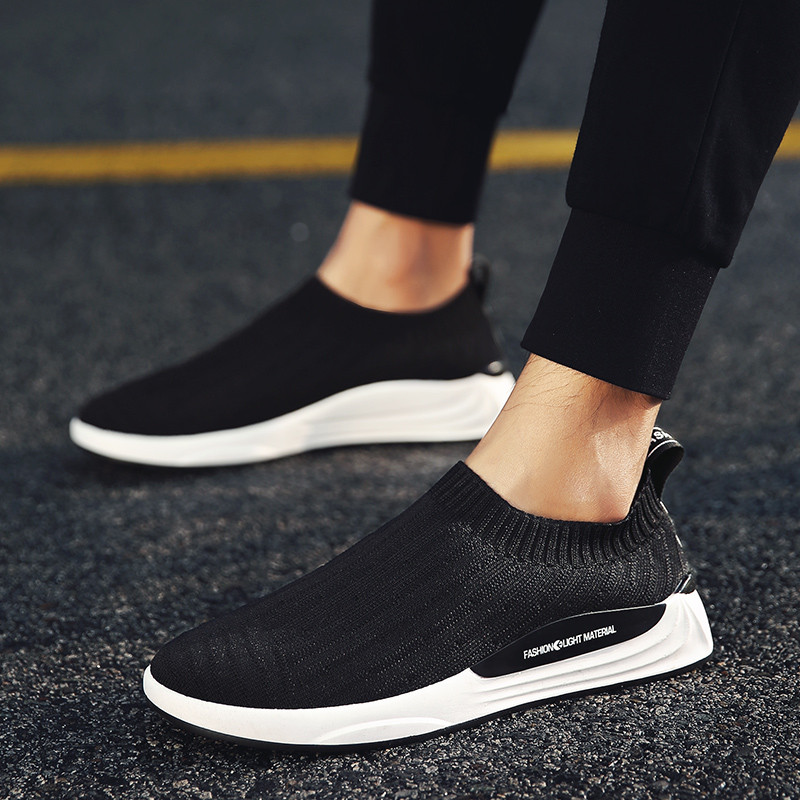884b55181e6d33 2018 Spring Shoes Men Breathable Casual Shoes Men Comfortable Men Sneakers-in  Men s Casual Shoes from Shoes on Aliexpress.com